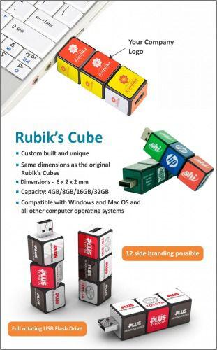 Rubiks Cube Pen drive