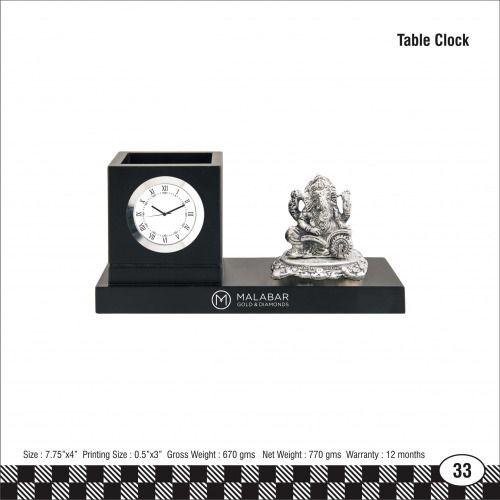 3s - 33 Malabar Table Clock