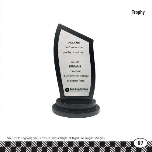 3s - 97 Gulzar Group Institutions Trophy